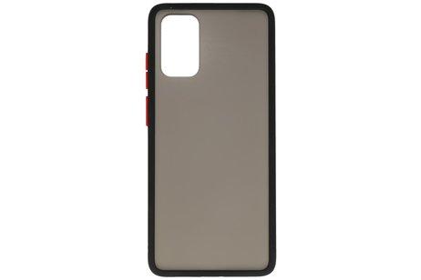 Kleurcombinatie Hard Case voor Samsung Galaxy S20 Plus / 5G Zwart