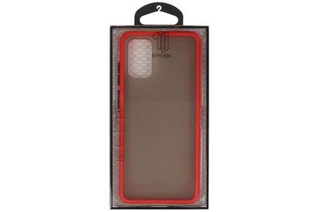 Kleurcombinatie Hard Case voor Samsung Galaxy S20 Plus / 5G Rood