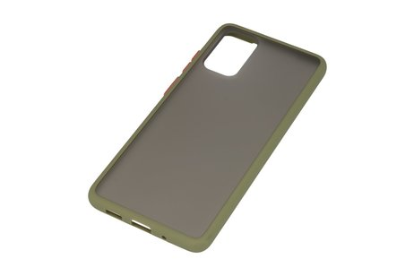 Kleurcombinatie Hard Case voor Samsung Galaxy S20 Plus / 5G Groen