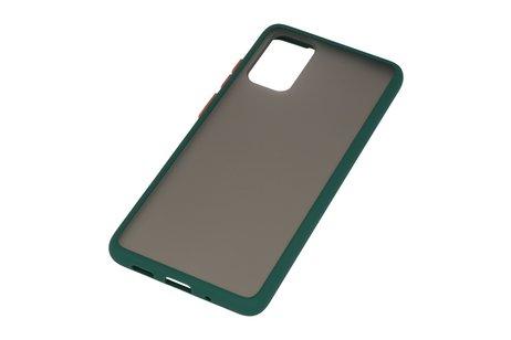 Kleurcombinatie Hard Case voor Samsung Galaxy S20 Plus / 5G Donker Groen