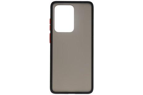Kleurcombinatie Hard Case voor Samsung Galaxy S20 Ultra 5G Zwart