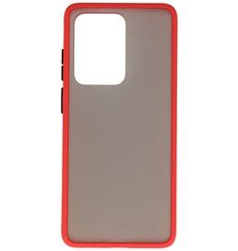 Kleurcombinatie Hard Case Samsung Galaxy S20 Ultra 5G Rood