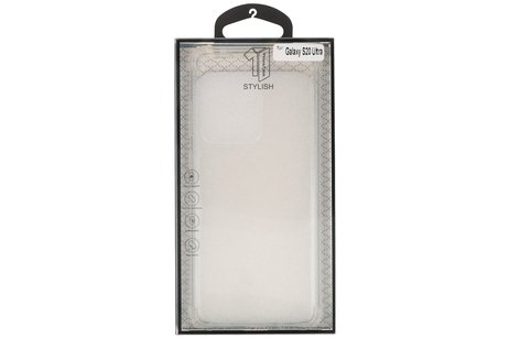Schokbestendig transparant TPU hoesje voor Samsung Galaxy S20 Ultra
