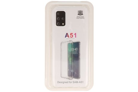 Schokbestendig transparant TPU hoesje voor Samsung Galaxy A51