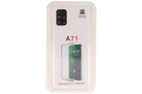Schokbestendig transparant TPU hoesje voor Samsung Galaxy A71
