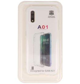 Schokbestendig transparant TPU hoesje Samsung Galaxy A01