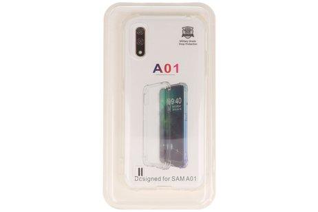 Schokbestendig transparant TPU hoesje voor Samsung Galaxy A01