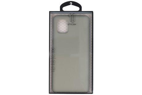 Color TPU Telefoonhoesje Back Cover voor Samsung Galaxy Note 10 Lite - Grijs