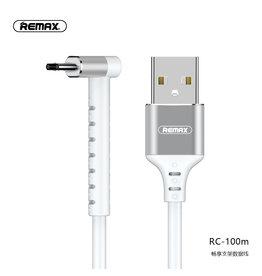 REMAX RC-100m Micro USB Kabel met Staande Functie Wit