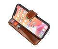 BAOHU Handmade Leer Telefoonhoesje voor iPhone 11 Pro - Bruin
