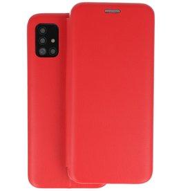 Slim Folio Telefoonhoesje Samsung Galaxy A51 - Rood