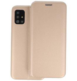 Slim Folio Telefoonhoesje Samsung Galaxy A51 - Goud