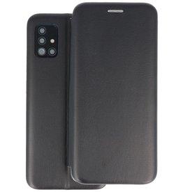 Slim Folio Telefoonhoesje Samsung Galaxy A71 - Zwart