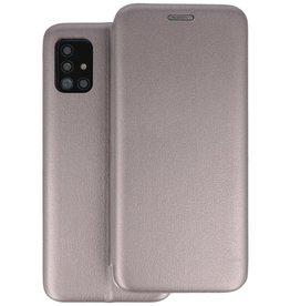 Slim Folio Telefoonhoesje Samsung Galaxy A71 - Grijs