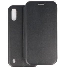 Slim Folio Telefoonhoesje Samsung Galaxy A01 - Zwart