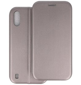 Slim Folio Telefoonhoesje Samsung Galaxy A01 - Grijs