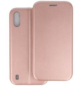 Slim Folio Telefoonhoesje Samsung Galaxy A01 - Roze