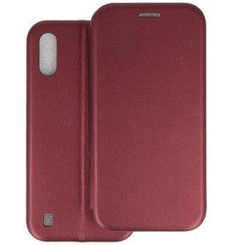 Slim Folio Telefoonhoesje Samsung Galaxy A01 - Bordeaux Rood