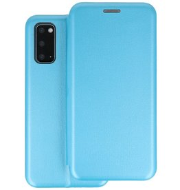 Slim Folio Telefoonhoesje Samsung Galaxy S20 - Blauw