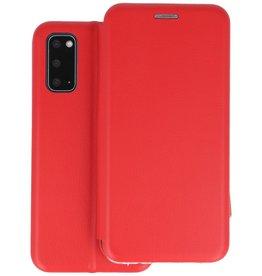 Slim Folio Telefoonhoesje Samsung Galaxy S20 - Rood
