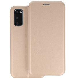 Slim Folio Telefoonhoesje Samsung Galaxy S20 - Goud