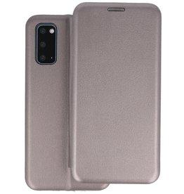 Slim Folio Telefoonhoesje Samsung Galaxy S20 - Grijs