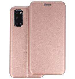 Slim Folio Telefoonhoesje Samsung Galaxy S20 - Roze
