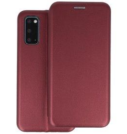 Slim Folio Telefoonhoesje Samsung Galaxy S20 - Bordeaux Rood