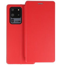 Slim Folio Telefoonhoesje Samsung Galaxy S20 Ultra - Rood