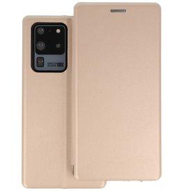 Slim Folio Telefoonhoesje Samsung Galaxy S20 Ultra - Goud