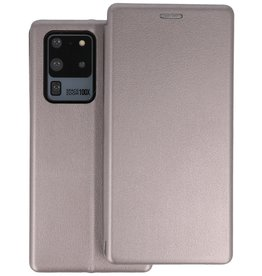 Slim Folio Telefoonhoesje Samsung Galaxy S20 Ultra - Grijs