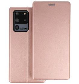 Slim Folio Telefoonhoesje Samsung Galaxy S20 Ultra - Roze