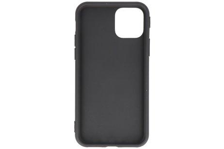 Premium Color Bescherming Telefoonhoesje voor iPhone 11 Pro - Zwart