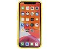 Premium Color Bescherming Telefoonhoesje voor iPhone 11 Pro - Geel