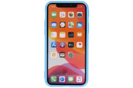 Premium Color Bescherming Telefoonhoesje voor iPhone 11 Pro Max - Licht Blauw