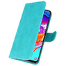 Samsung Galaxy A11 Hoesje Kaarthouder Book Case Telefoonhoesje Groen