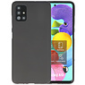 Color Bescherming Telefoonhoesje Samsung Galaxy A51 - Zwart