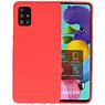Color Bescherming Telefoonhoesje Samsung Galaxy A51 - Rood