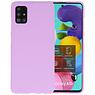 Color Bescherming Telefoonhoesje Samsung Galaxy A51 - Paars