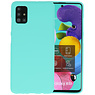 Color Bescherming Telefoonhoesje Samsung Galaxy A51 - Turquoise