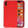 Premium Color Bescherming Telefoonhoesje iPhone Xs Max - Rood