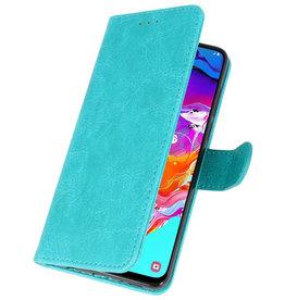 Samsung Galaxy A21s Hoesje Kaarthouder Book Case Telefoonhoesje Groen