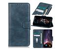 Zakelijke Book Case Telefoonhoesje voor Samsung Galaxy A41 - Blauw