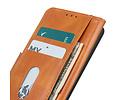 Zakelijke Book Case Telefoonhoesje voor Samsung Galaxy A41 - Bruin