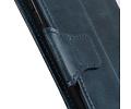 Zakelijke Book Case Telefoonhoesje voor Samsung Galaxy A71 - Blauw