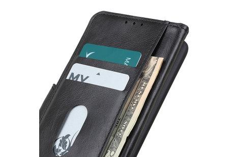 Zakelijke Book Case Telefoonhoesje voor Samsung Galaxy S20 - Zwart