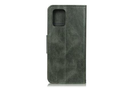 Zakelijke Book Case Telefoonhoesje voor Samsung Galaxy S20 - Donker Groen