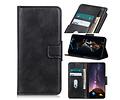 Zakelijke Book Case Telefoonhoesje voor Samsung Galaxy S20 Plus - Zwart