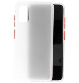 Samsung Galaxy A41 Hoesje Hard Case Backcover Telefoonhoesje Transparant