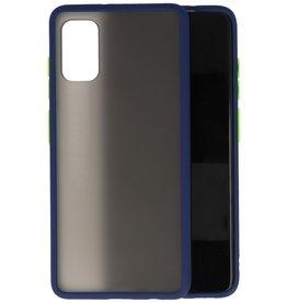 Samsung Galaxy A41 Hoesje Hard Case Backcover Telefoonhoesje Blauw